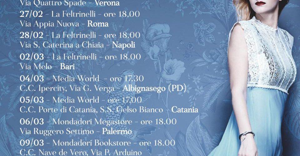 Chiara – Da venerdì il nuovo album, l'instore tour e tracklist