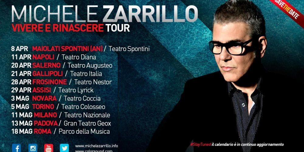 Michele Zarrillo, ecco tutte le date del tour