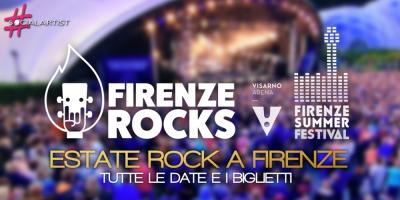 Firenze capitale dell'estate rock 2017