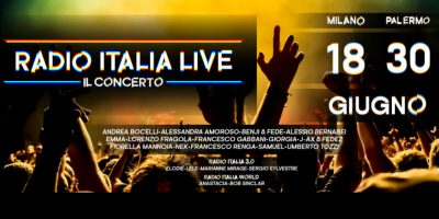 Svelato il cast del Radio Italia Live – Il Concerto 2017