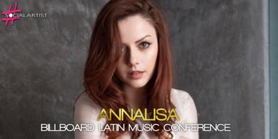 Annalisa ai Billboard Latin Music Conference
