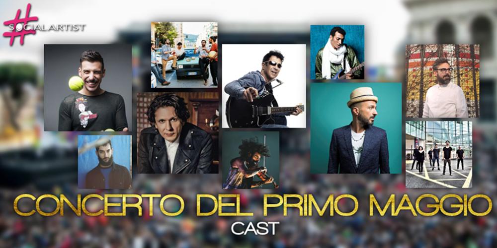 Ecco il cast del Concerto del Primo Maggio a Roma