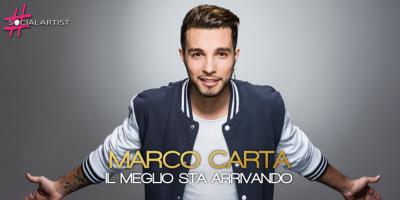 Marco Carta torna con il nuovo singolo, Il meglio sta arrivando