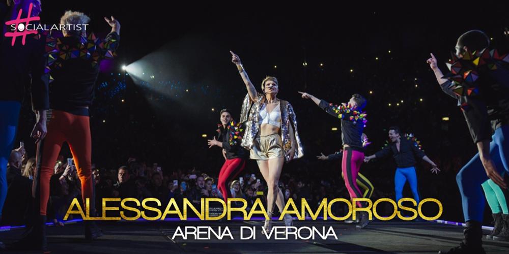 Alessandra Amoroso sbanca tutto e segna due SOLD OUT all'Arena di Verona!