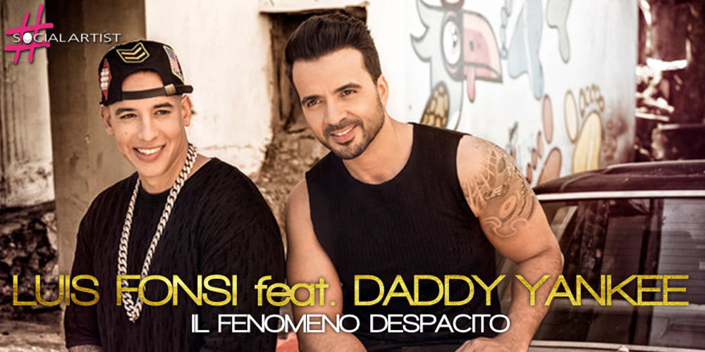 Luis Fonsi festeggia il quinto platino italiano per Despacito