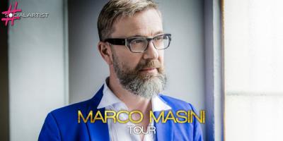 Marco Masini in giro per l'Italia con il suo Spostato di un secondo Tour