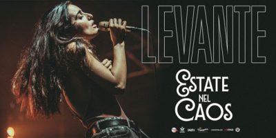 Al via il 3 giugno il tour di Levante, Estate nel Caos Tour 2017
