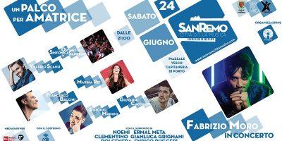 Un palco per Amatrice: Evento per raccogliere fondi per i Comuni terremotati del Centro Italia