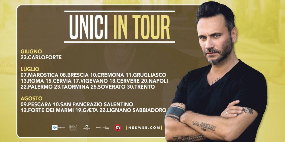 Dal 23 giugno riparte l'Unici in Tour e viene pubblicato Unicos per il mercato Latino