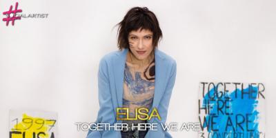 Si aggiunge una data al Together here we are, l'evento che celebrerà i 20 anni di carriera di Elisa