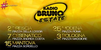 Radio Bruno torna in piazza con il Radio Bruno Estate 2017
