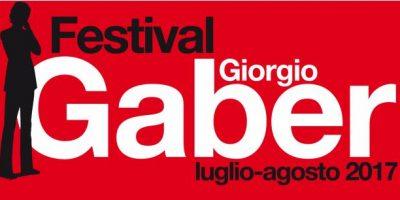 Festival Gaber 2017, 13 appuntamenti dal 7 luglio al 1 agosto