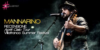 MANNARINO: Recensione Apriti Cielo Tour al Villafranca Summer Festival