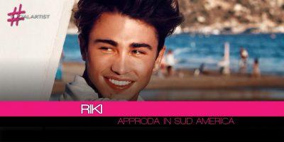 Riki al lavoro per il lancio discografico in Sud America