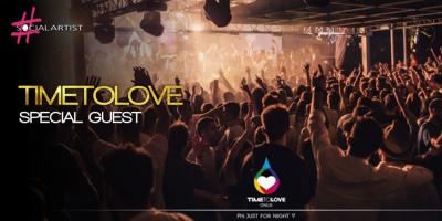 Il 7 settembre al Molotre di Brescia si terrà il TimeToLove Official Party