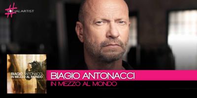 Da venerdì 29 settembre il nuovo singolo di Biagio Antonacci, In mezzo al Mondo