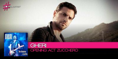 Gheri sarà l'Opering Act di Zucchero all'Arena di Verona