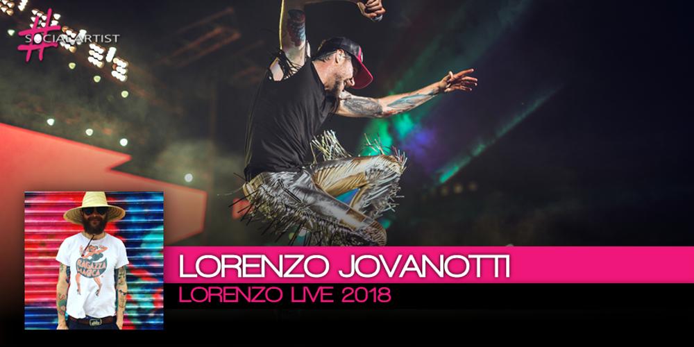 JOVANOTTI: Ecco le prime cinquanta date del Lorenzo Live 2018