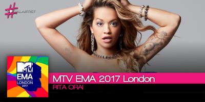 Sarà Rita Ora a presentare gli MTV EMA 2017 London
