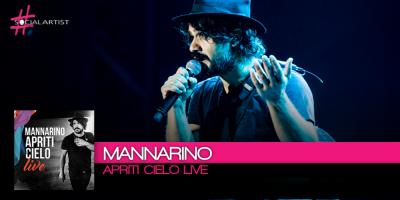 Mannarino pubblica il primo album live dopo il grande successo del Tour