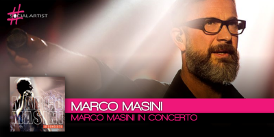 Marco Masini in Concerto, dal 29 settembre il nuovo album