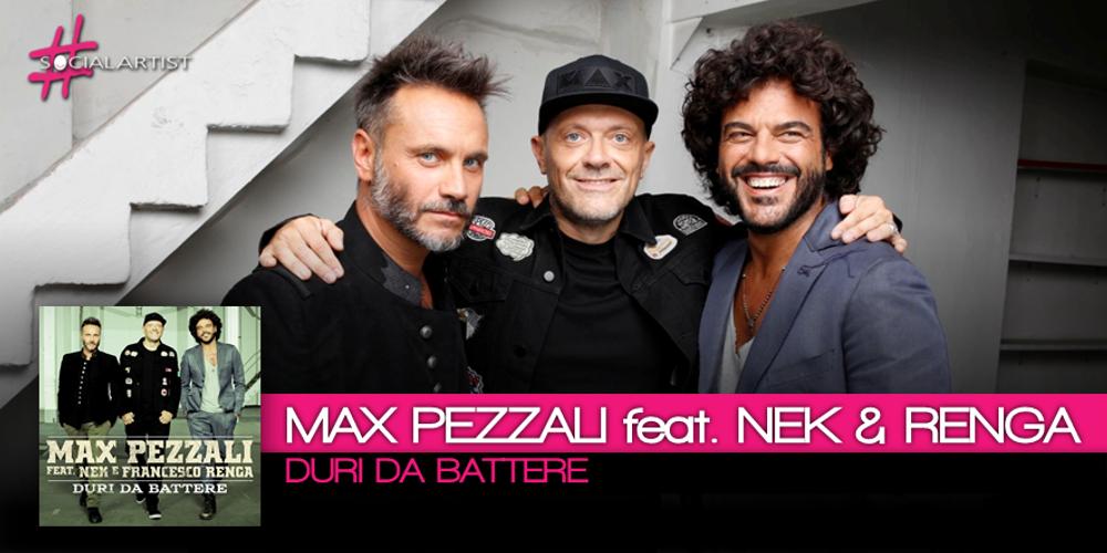 Max Pezzali festeggia i 25 anni di carriera con Nek e Francesco Renga
