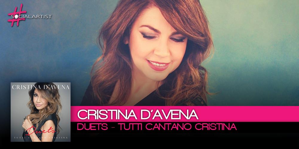 Cristina D'Avena duetta con 16 Big della musica italiana in Duets