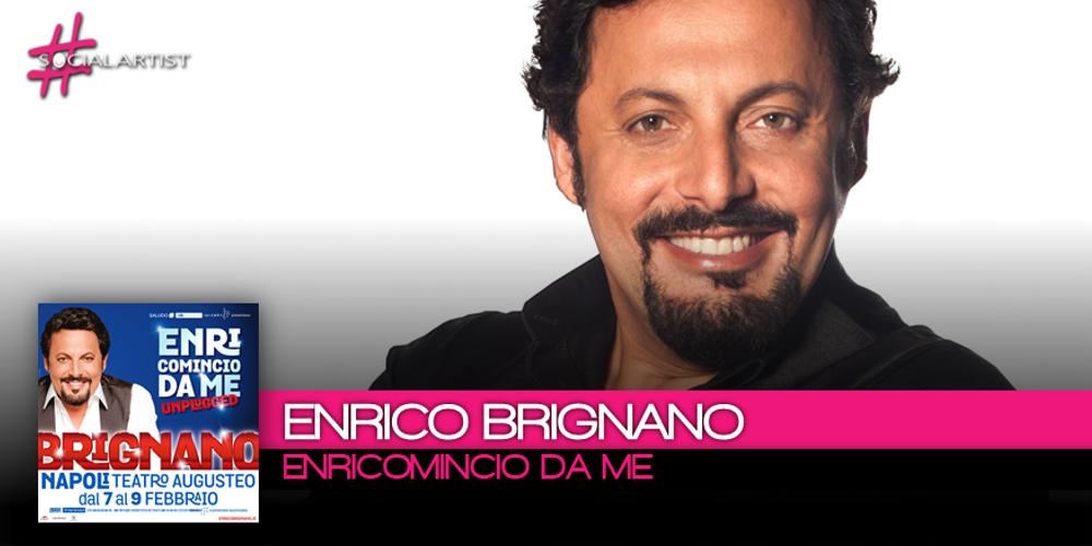 """Nuove date per la tournée """"Enricomincio da Me"""" di Enrico Brignano"""