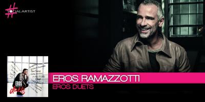 Eros Ramazzotti, esce il 17 novembre Eros Duets