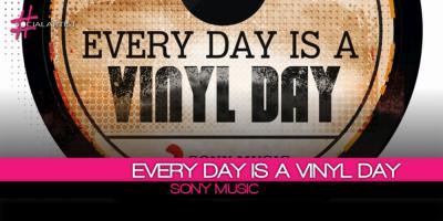 Every Day Is A Vinyl Day, l'iniziativa Sony per riscoprire il patrimonio discografico italiano
