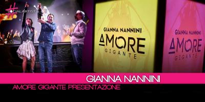 In arrivo il nuovo album di Gianna Nannini, le foto della presentazione di Amore Gigante