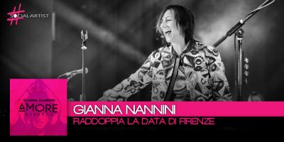 Gianna Nannini raddoppia la data del tour di Firenze