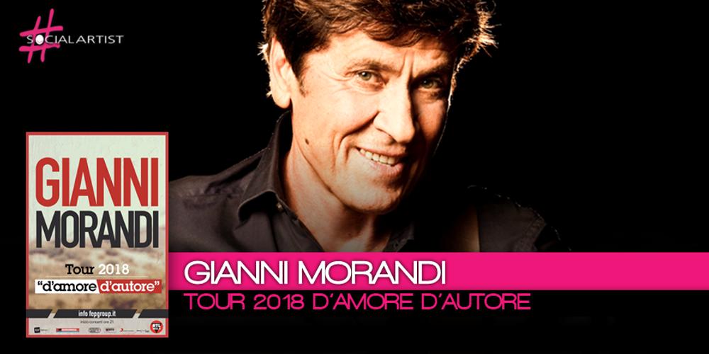 Nuove date per D'Amore D'Autore, il nuovo tour di Gianni Morandi