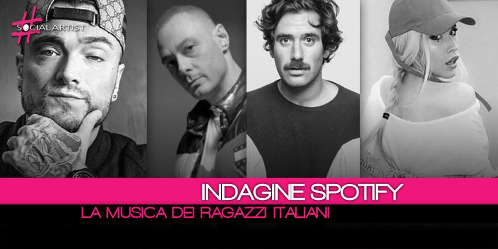 Ecco quali sono gli artisti e i brani più ascoltati dai ragazzi italiani