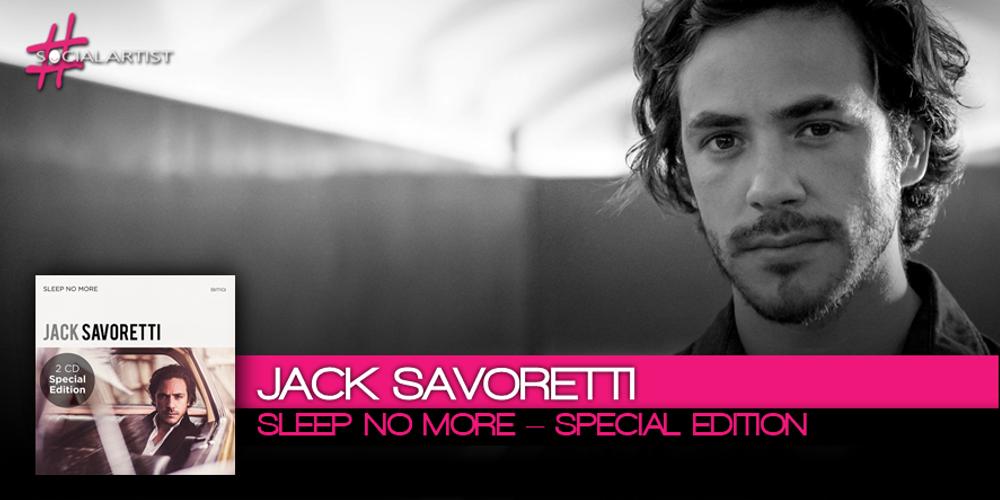 Jack Savoretti, dal 20 ottobre nei negozi con Sleep No More – special edition