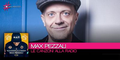 Max Pezzali, il nuovo album intitolato Le Canzoni Alla Radio uscirà il 17 novembre