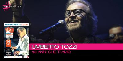 40 ANNI CHE TI AMO, il concerto celebrativo alla carriera di Umberto Tozzi