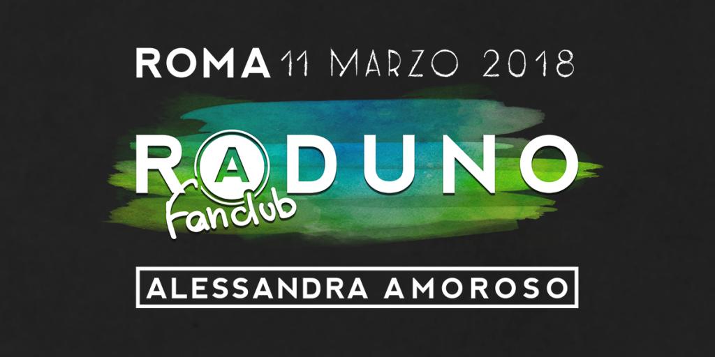 Alessandra Amoroso Live Raduno 2018