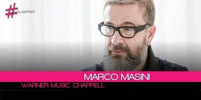 Marco Masini, rinnovo del contratto da autore con Warner Chappell