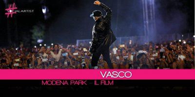 Vasco, Modena Park diventa un Film in anteprima il 1 Dicembre e dal 4 al 7 in tutti i cinema