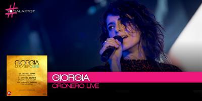 Giorgia prepara le date evento dell'Oronero Live e pubblica un nuovo album!