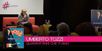 Umberto Tozzi, conferenza stampa 40 anni che Ti Amo in Arena