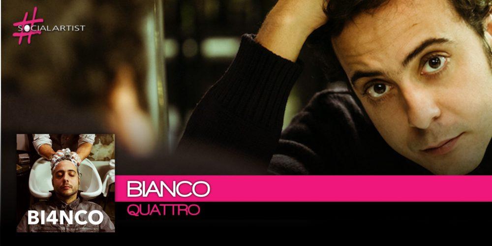 Bianco, in uscita a gennaio il nuovo album Quattro
