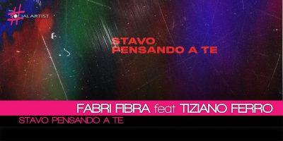 Stavo pensando a te, arriva il feat. tra Fabri Fibra e Tiziano Ferro