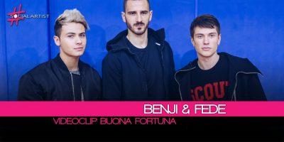 Benji & Fede, online il videoclip di Buona Fortuna con Leonardo Bonucci