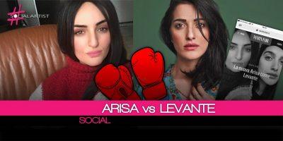 Levante VS Arisa, la polemica tra le due scoppia sui social!