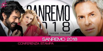 Conferenza Stampa • Tutte le novità del Festival di Sanremo 2018