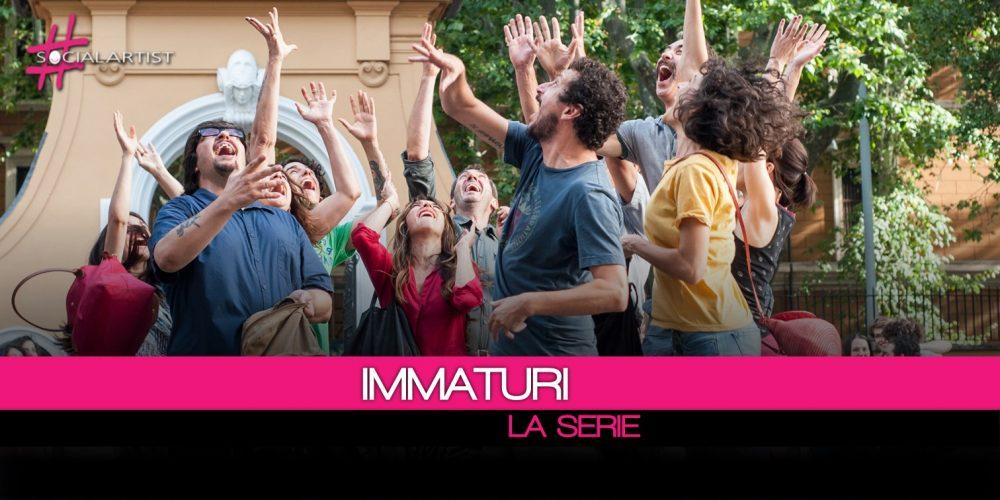 In onda da venerdì 12 gennaio su Canale 5, Immaturi – La Serie