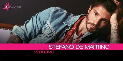 Verissimo, Stefano De Martino in partenza per L'Isola dei Famosi