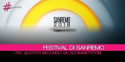 Festival di Sanremo, ecco chi vincerà secondo SNAI